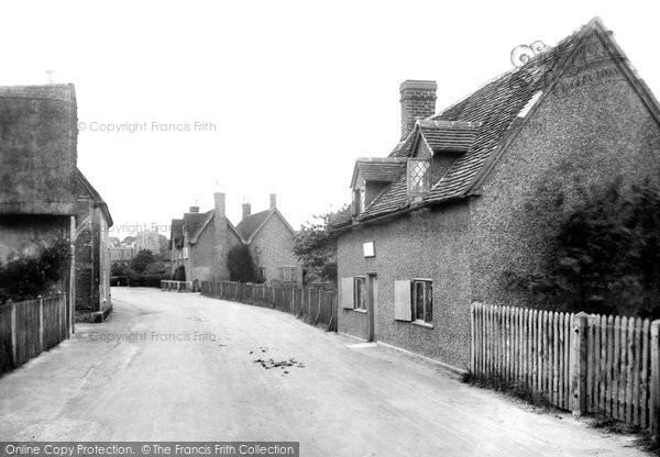 Elstow, Bunyan's Cottage and the Village 1921