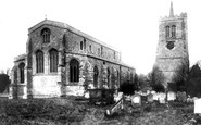 Elstow, the Church of St Mary and St Helena 1898