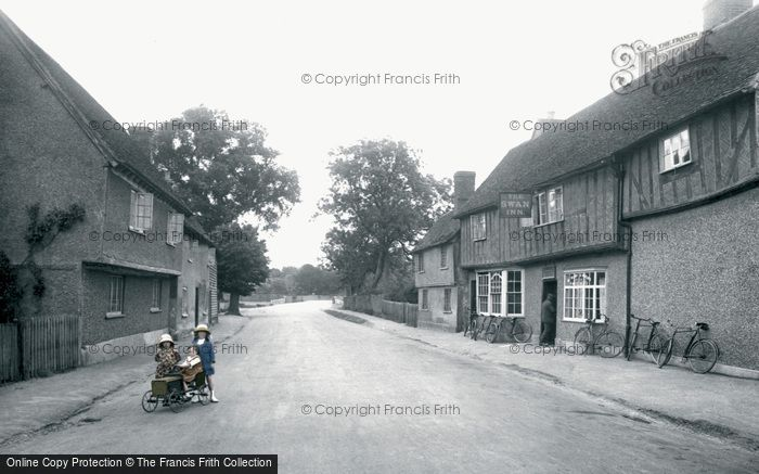 Elstow, The Swan Inn 1921
