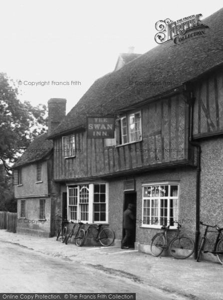 Photo of Elstow, The Swan Inn 1921