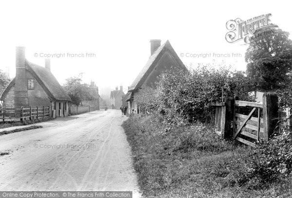 Photo of Elstow, Village 1897
