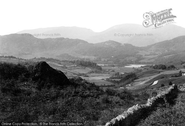 Elterwater, from Coniston Road 1892.  (Neg. 30532a)  © Copyright The Francis Frith Collection 2008. http://www.francisfrith.com