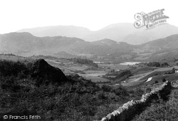 Elterwater, From Coniston Road 1892