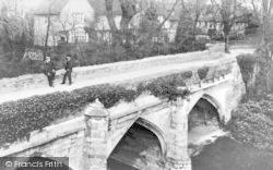 Eltham, Eltham Palace Moat Bridge And Chancellors Lodgings c.1900