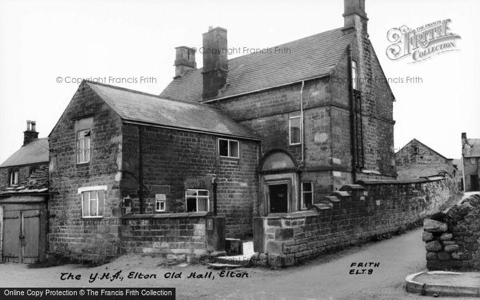 Photo of Elton, Old Hall, The Yha c.1955
