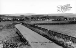 Village From Moor Road c.1950, Elton