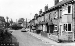 Church Lane c.1965, Elvington