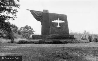 Elvington, Free French Memorial c1960