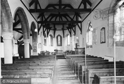 Holy Trinity Church Interior c.1960, Elvington