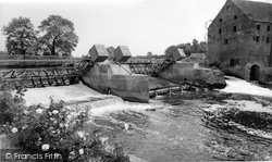 Sluice Gates And Weir c.1960, Elvington