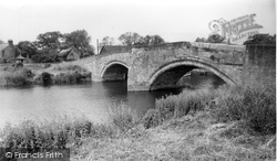 The Bridge And Derwent House c.1960, Elvington