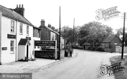 The Grey Horse Inn And School c.1960, Elvington