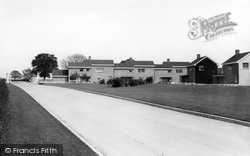 Waterworks Houses c.1960, Elvington