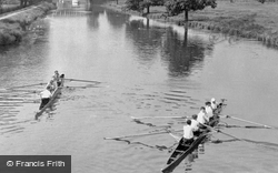 Boat Race On The River Ouse c.1955, Ely