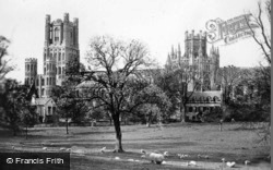 Cathedral c.1930, Ely