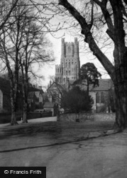 Ely, Cathedral c.1955