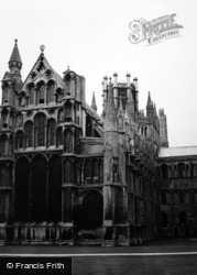 Ely, Cathedral c.1960