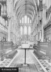 Ely, Cathedral, Choir c.1965