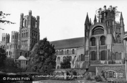 Cathedral From The South c.1960, Ely