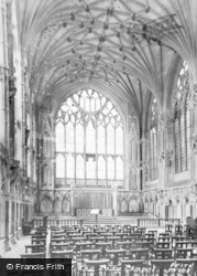 Ely, Cathedral, Lady Chapel c.1955