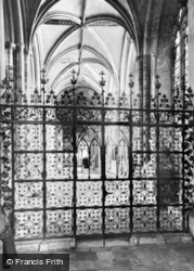 Cathedral, South Choir Aisle c.1960, Ely