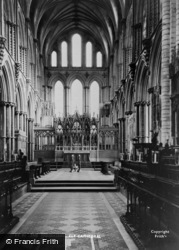 Ely, Cathedral, The Presbytery c.1960
