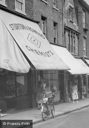 Fore Hill, Chemist c.1955, Ely