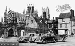 Ely, Market Place c.1955