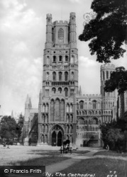 The Cathedral c.1955, Ely