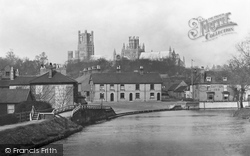 Ely, The Cathedral From The River Ouse 1891