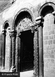 Ely, The Prior's Doorway c.1960