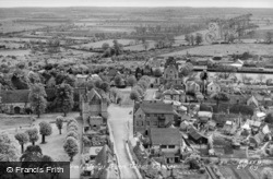 View From The Cathedral West Tower c.1955, Ely