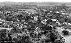 Ely, View From The West Tower c.1955