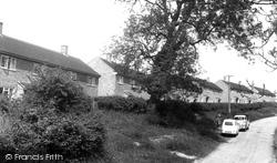 Empingham, Highfield Close c.1960