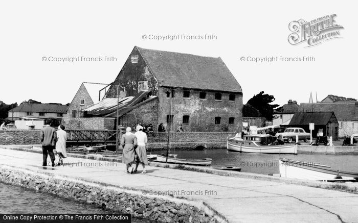 Emsworth,the Old Mill c1955,Hampshire
