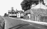 Endmoor, Post Office and Main Road c1955