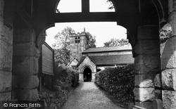 St Luke's Church c.1955, Endon