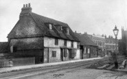 Enfield, Hertford Road, Near Green Street Junction c.1900