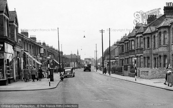 Photo of Enfield, Lancaster Road c1950