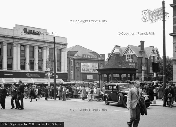 Old Historical Nostalgic Pictures Of Enfield Town In