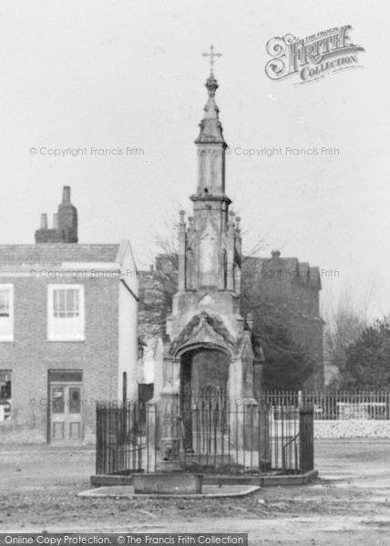 Photo of Enfield, Old Market Cross c.1870