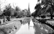 Enfield, The New River c.1955