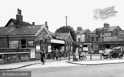 Enfield, The Station c.1945