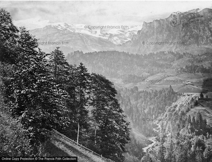 Photo of Engelberg, First View Of The Titlis c.1860