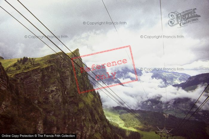 Photo of Engelberg, Mount Titlis, From The Cable Car 1983
