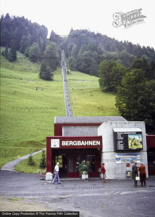Photo of Engelberg, Rack Railway Station 1983