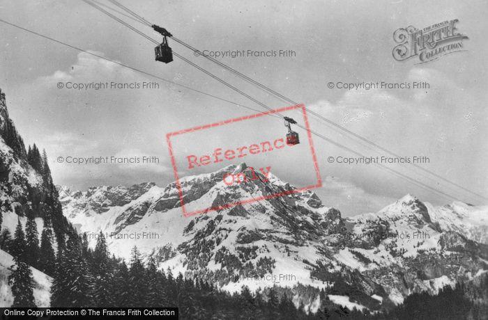 Photo of Engelberg, Suspension Railway c.1935