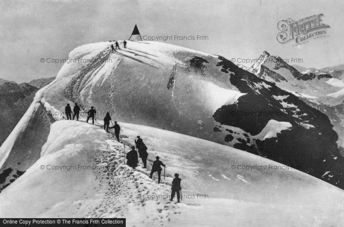 Photo of Engelberg, Titlis Point c.1935