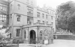 Englefield House, Main Entrance c.1955, Englefield