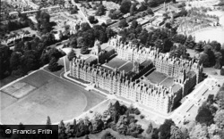Aerial View, Royal Holloway College c.1965, Englefield Green